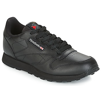 Shoes Children Low top trainers Reebok Classic CLASSIC LEATHER J Black