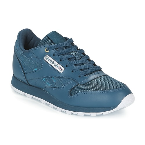 ae04f46ce0ccf Reebok Classic CLASSIC LEATHER J Marine - Free delivery with Spartoo ...