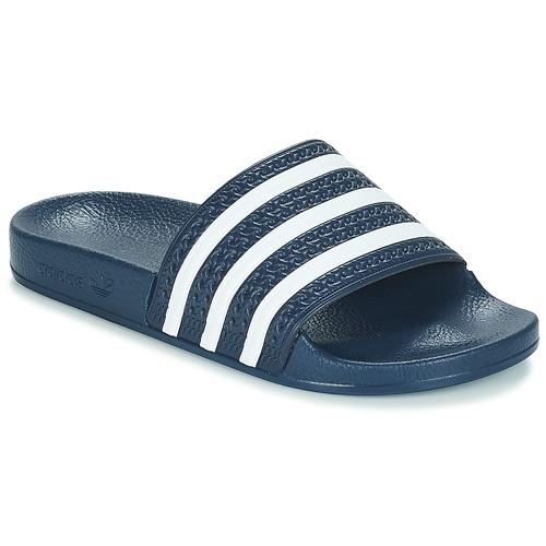 Shoes Sliders adidas Originals ADILETTE Marine / White