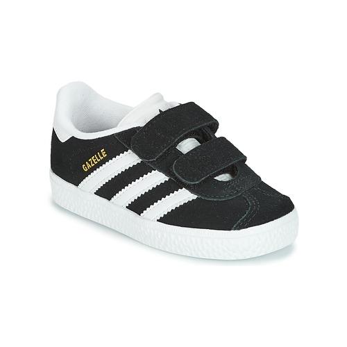 Shoes Children Low top trainers adidas Originals GAZELLE CF I Black