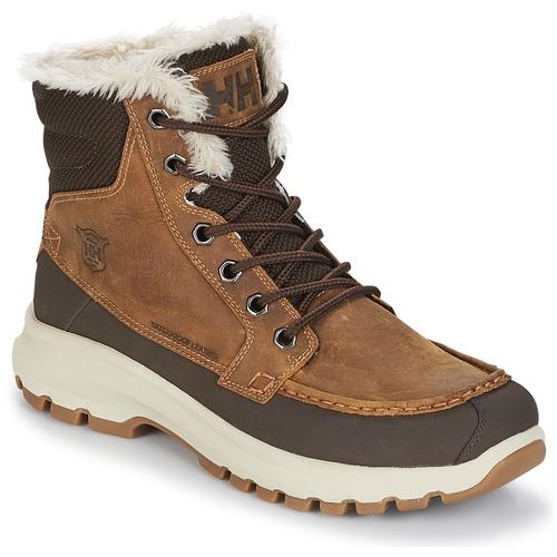 Shoes Men Mid boots Helly Hansen GARIBALDI V3 Brown
