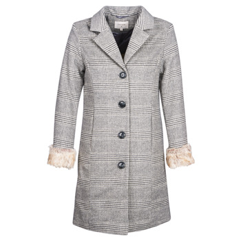 material Women coats Cream CHLOE Grey
