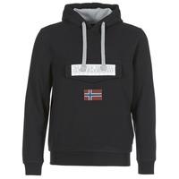 material Men sweaters Napapijri BURGEE Black