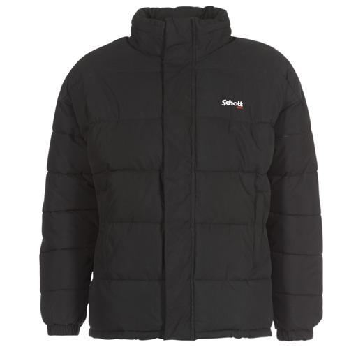 material Duffel coats Schott NEBRASKA Black