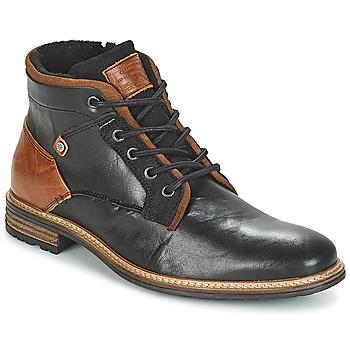 Shoes Men Mid boots Bullboxer NIRINA Black