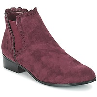 Shoes Women Mid boots Moony Mood JERMA Aubergine