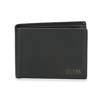 Bags Men Wallets Guess NEW BOSTON BILLFOLD W/COIN POCKET Black
