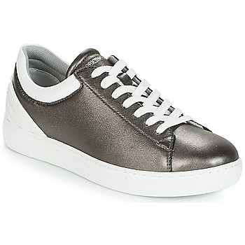 Shoes Women Low top trainers Emporio Armani BRUNA Pewter