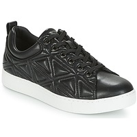 Shoes Women Low top trainers Emporio Armani DELIA Black