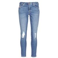material Women slim jeans Diesel BABHILA Blue / 084wp