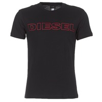 material Men short-sleeved t-shirts Diesel JAKE Black