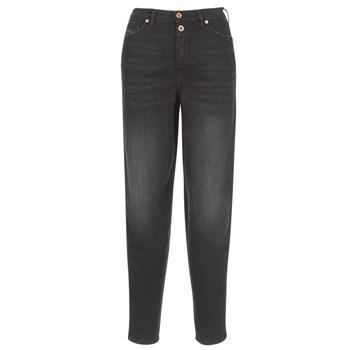 material Women straight jeans Diesel ALYS Black