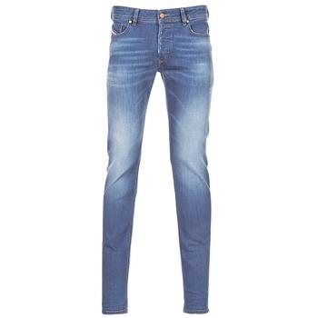 material Men Skinny jeans Diesel SLEENKER Blue