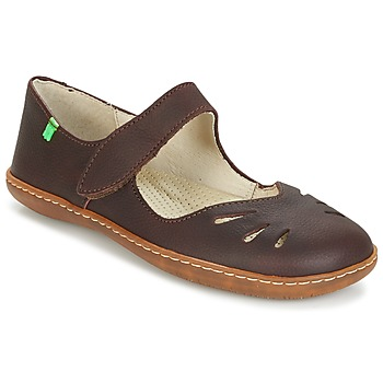 Shoes Women Ballerinas El Naturalista EL VIAJERO Brown