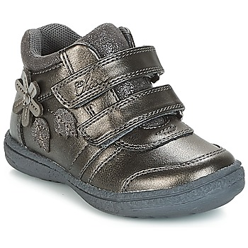 Shoes Girl High top trainers Chicco CELESTINA Grey