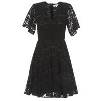 material Women Short Dresses Derhy DAMOISELLE Black