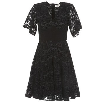 material Women Short Dresses Derhy DAMOISELLE Black
