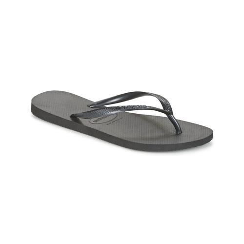 Shoes Women Flip flops Havaianas SLIM Black