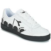 Shoes Men Low top trainers Diadora B.ELITE BOLDER White / Black