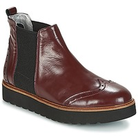 Shoes Women Mid boots Ippon Vintage HUNTER THICK Bordeaux