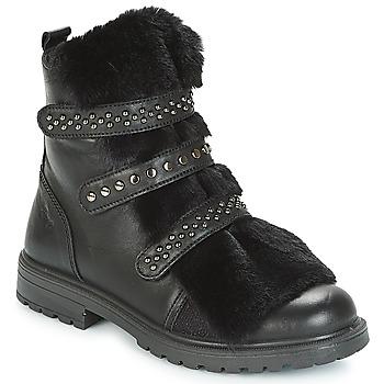Shoes Girl Mid boots Primigi CHRIS Black