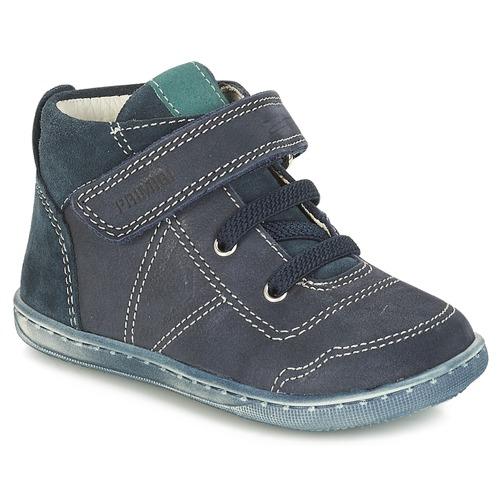 Shoes Boy Mid boots Primigi PALMER Blue