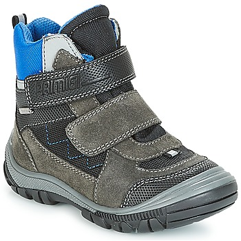 Shoes Boy Snow boots Primigi PNA 24355 GORE-TEX Grey / Blue