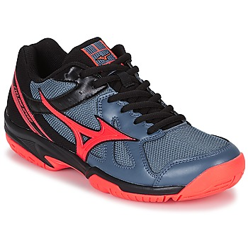 Shoes Women Indoor sports trainers Mizuno CYCLONE SPEED Black / Grey / Orange
