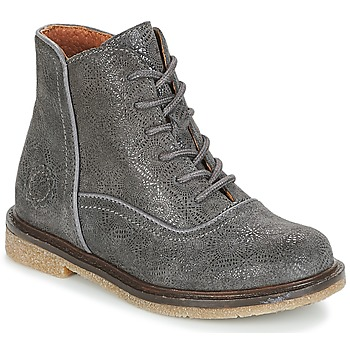 Shoes Girl Mid boots Aster WANDAY Grey