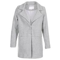 material Women coats Vila VIDORY Grey