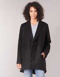 material Women coats Vila VICAMDON Black