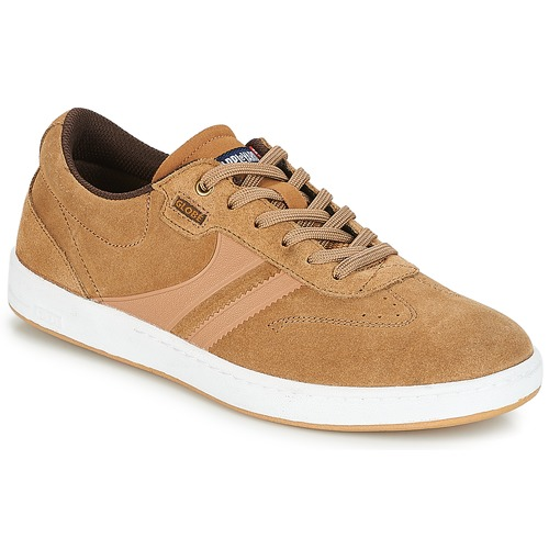 Shoes Men Low top trainers Globe EMPIRE Tobacco / Gum