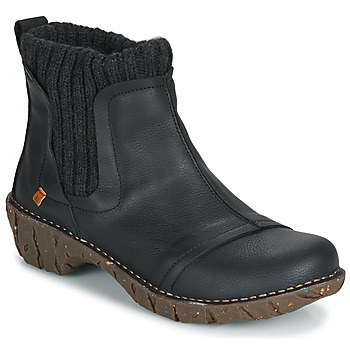 Shoes Women Mid boots El Naturalista YGGDRASIL Black