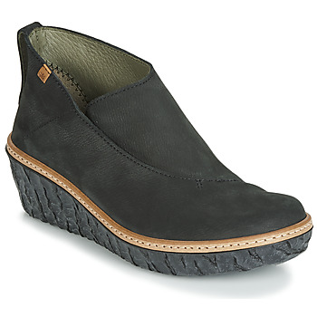 Shoes Women Low boots El Naturalista MYTH YGGDRASIL Black