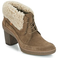 Shoes Women Ankle boots El Naturalista LICHEN Kaki