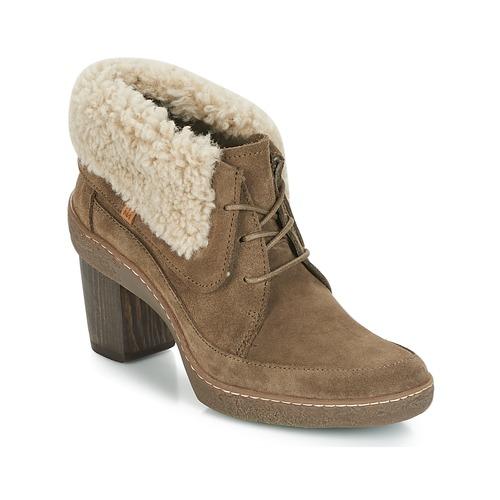 Shoes Women Boots El Naturalista LICHEN Kaki