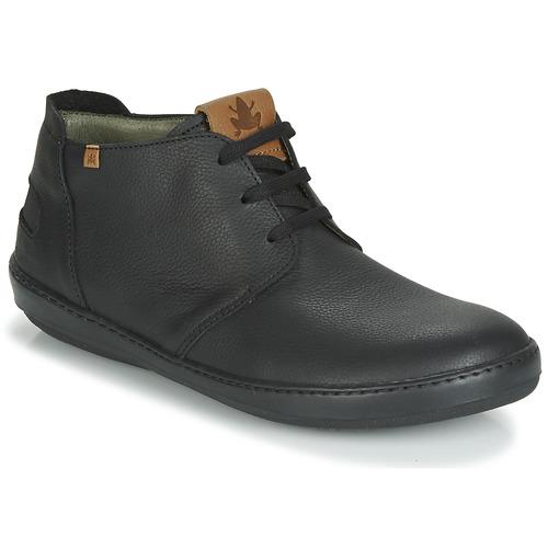 Shoes Men Mid boots El Naturalista METEO Black