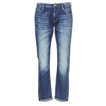 material Women slim jeans Le Temps des Cerises HERITAGE Blue / Medium