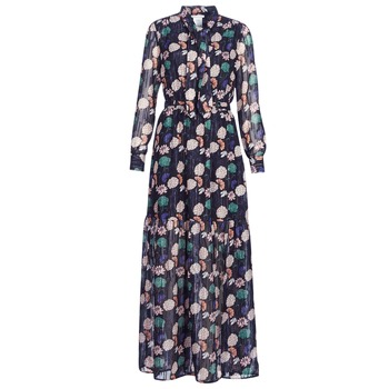 material Women Long Dresses LPB Woman REHISUN Blue / Multicolour