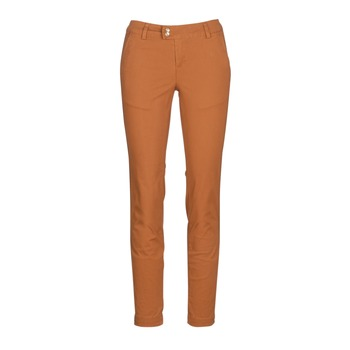 material Women chinos Les Petites Bombes VAWO Cognac