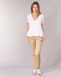 material Women chinos Les Petites Bombes SKIBLOU Beige