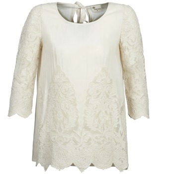 material Women Blouses Stella Forest AELEZIG Ecru