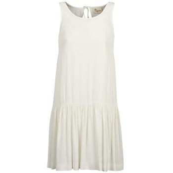 material Women Short Dresses Stella Forest DELFINEZ Ecru