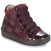 Shoes Girl High top trainers Acebo's MASSA Bordeaux