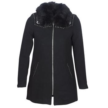 material Women coats Desigual COLLINE Black