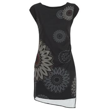 material Women Short Dresses Desigual SANDRINI Black