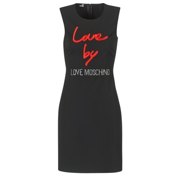 material Women Short Dresses Love Moschino CARININA Black