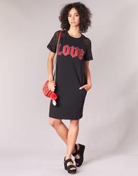 material Women Short Dresses Love Moschino BLAFA Black