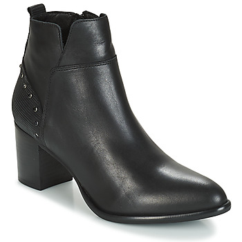 Shoes Women Ankle boots Regard RUSTANO V1 MAIA NOIR Black