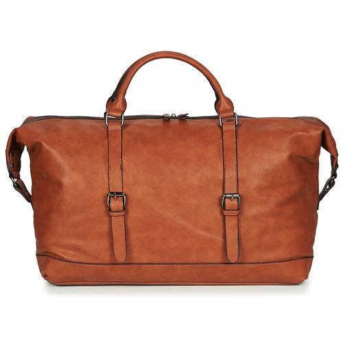 Bags Men Luggage Casual Attitude DAVITO Camel